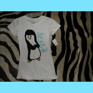 Penguin Shirt Cuz Im Cool Like That BNWT